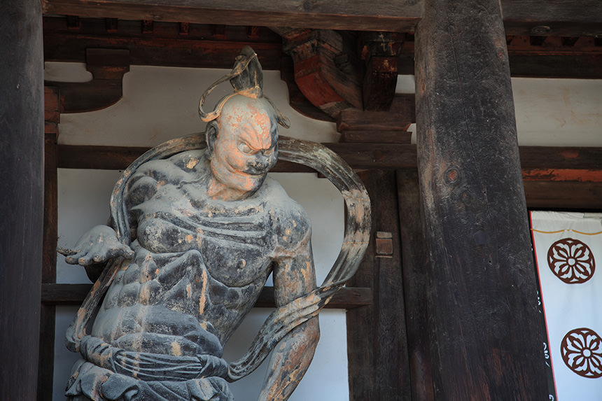 Buddhist art of Horyu-ji Temple's photo