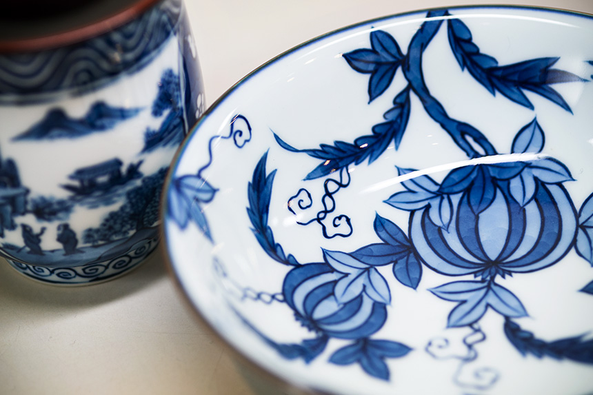 Arita ware porcelain's photo