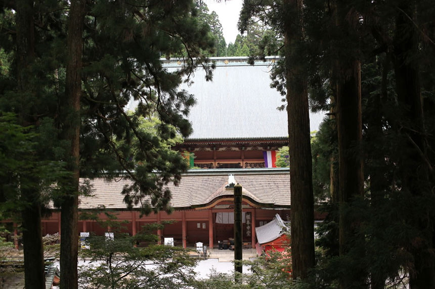 Enryaku-ji Temple on Mount Hiei's photo