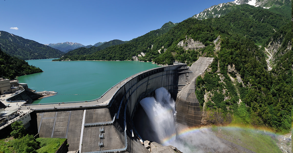 Kurobe Japan  City new picture : Kurobe Dam TOYAMA | IS JAPAN COOL