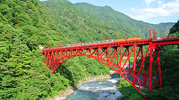 Kurobe Gorge Train