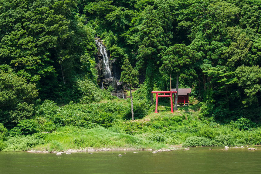 Mogami Gorge Basho Line Tour's photo