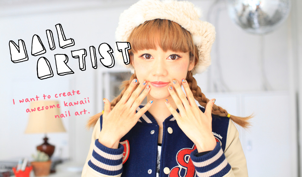 I want to create awesome kawaii nail art. - Kawaii in Japan | IS ...