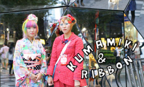 Harajuku fashion is a way to express myself.